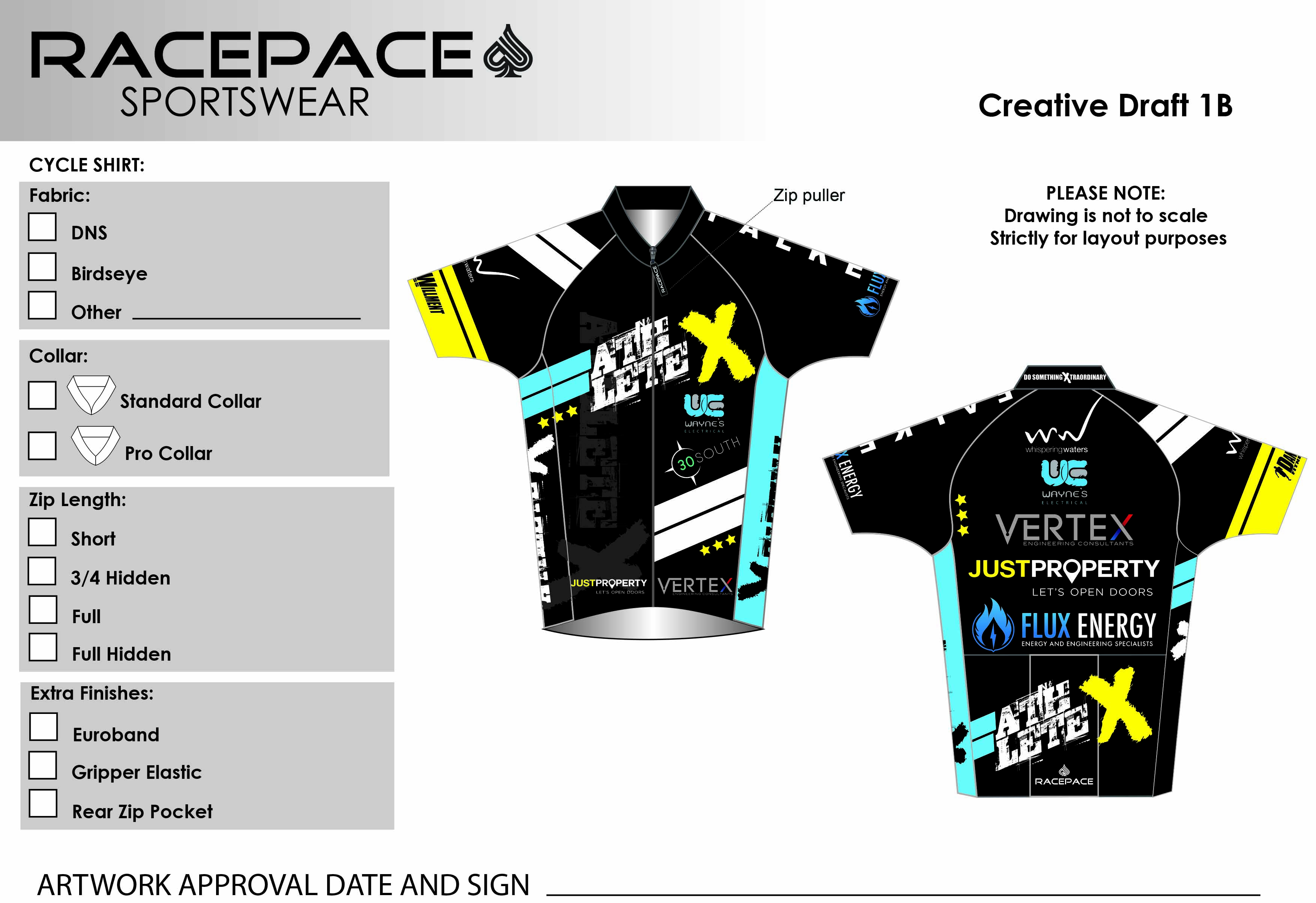 Dan Willment Cycle Shirt Draft1B