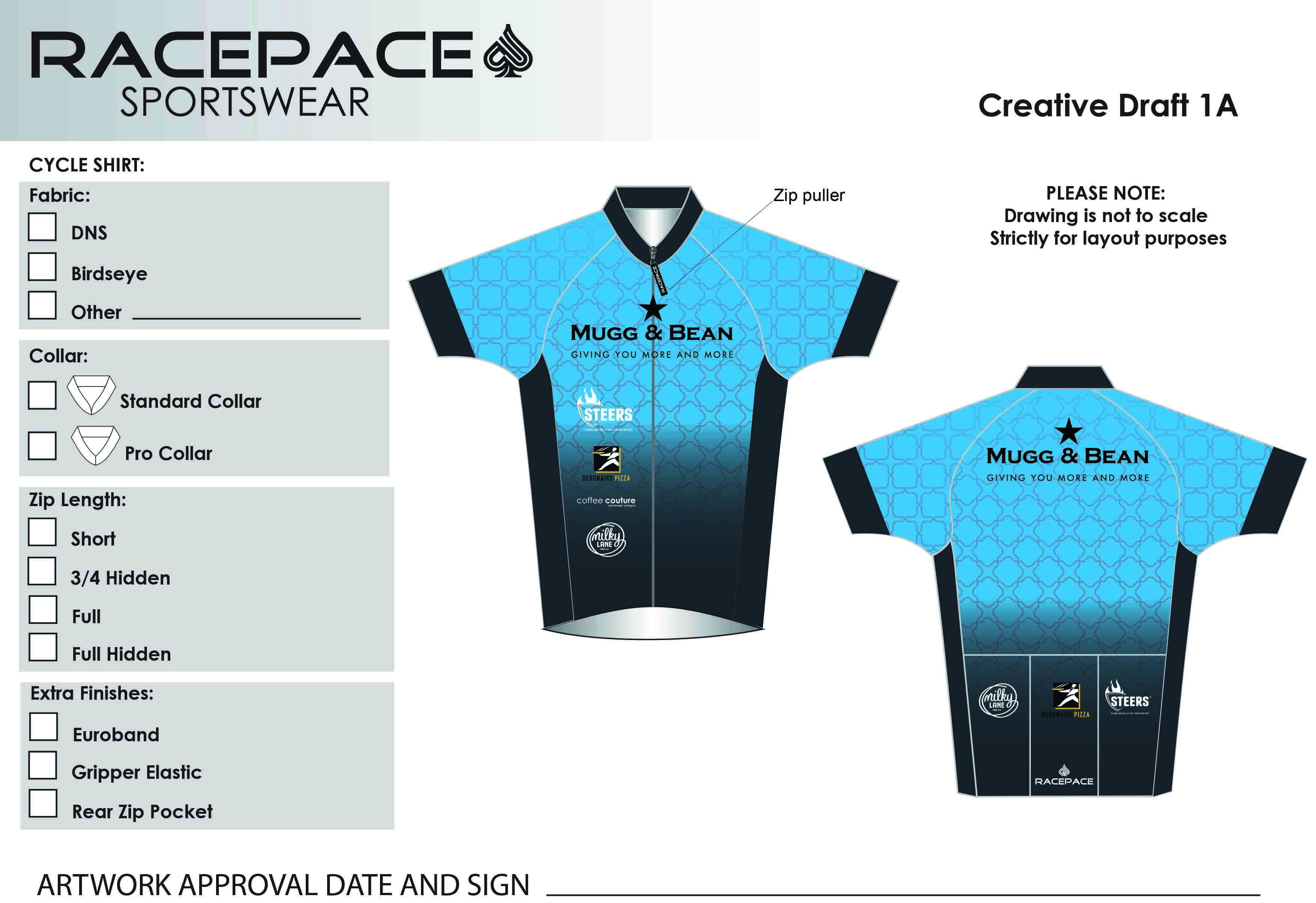 Famous Brands Cycle Shirt Draft 1A