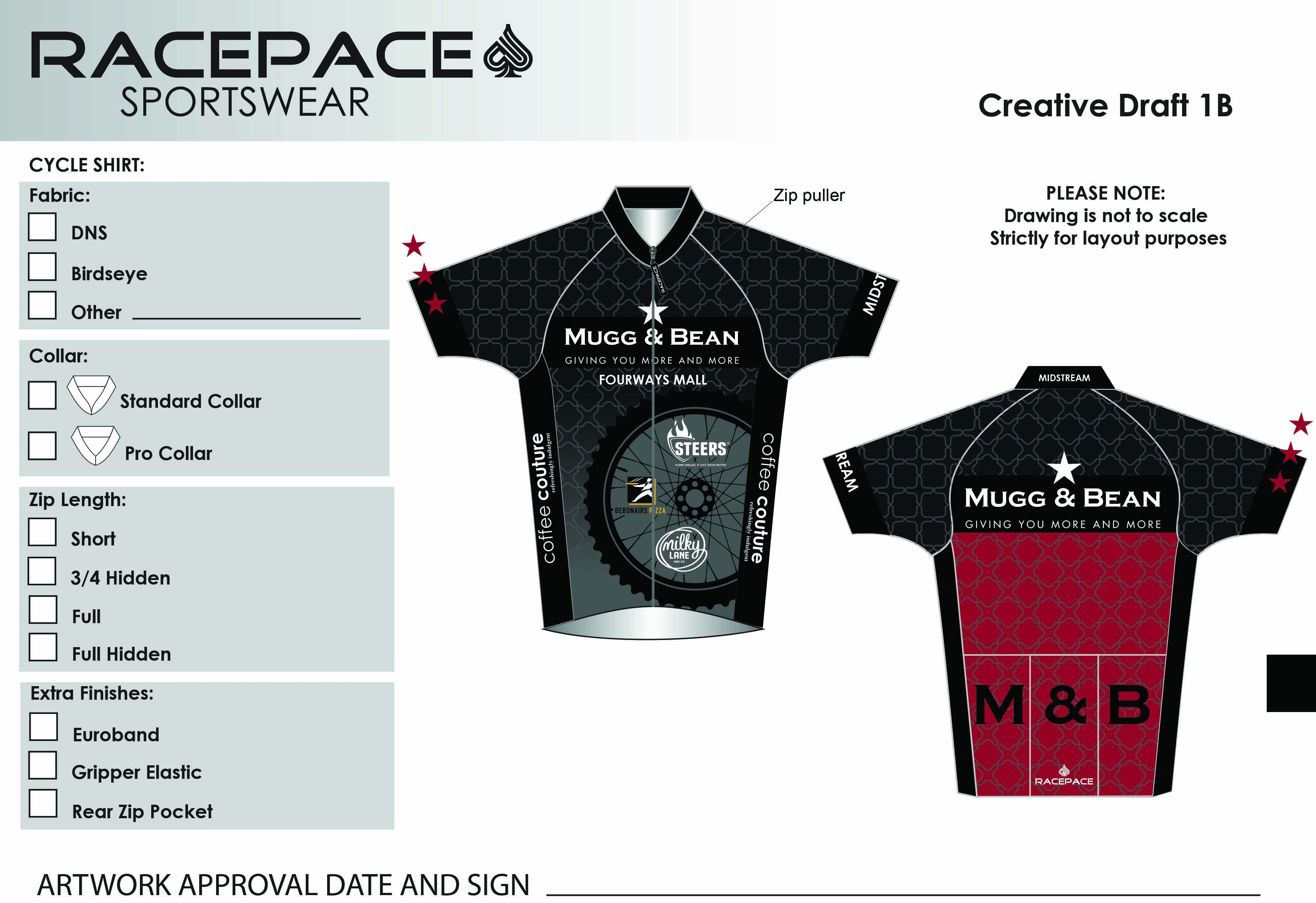 Famous Brands Cycle Shirt Draft 1B