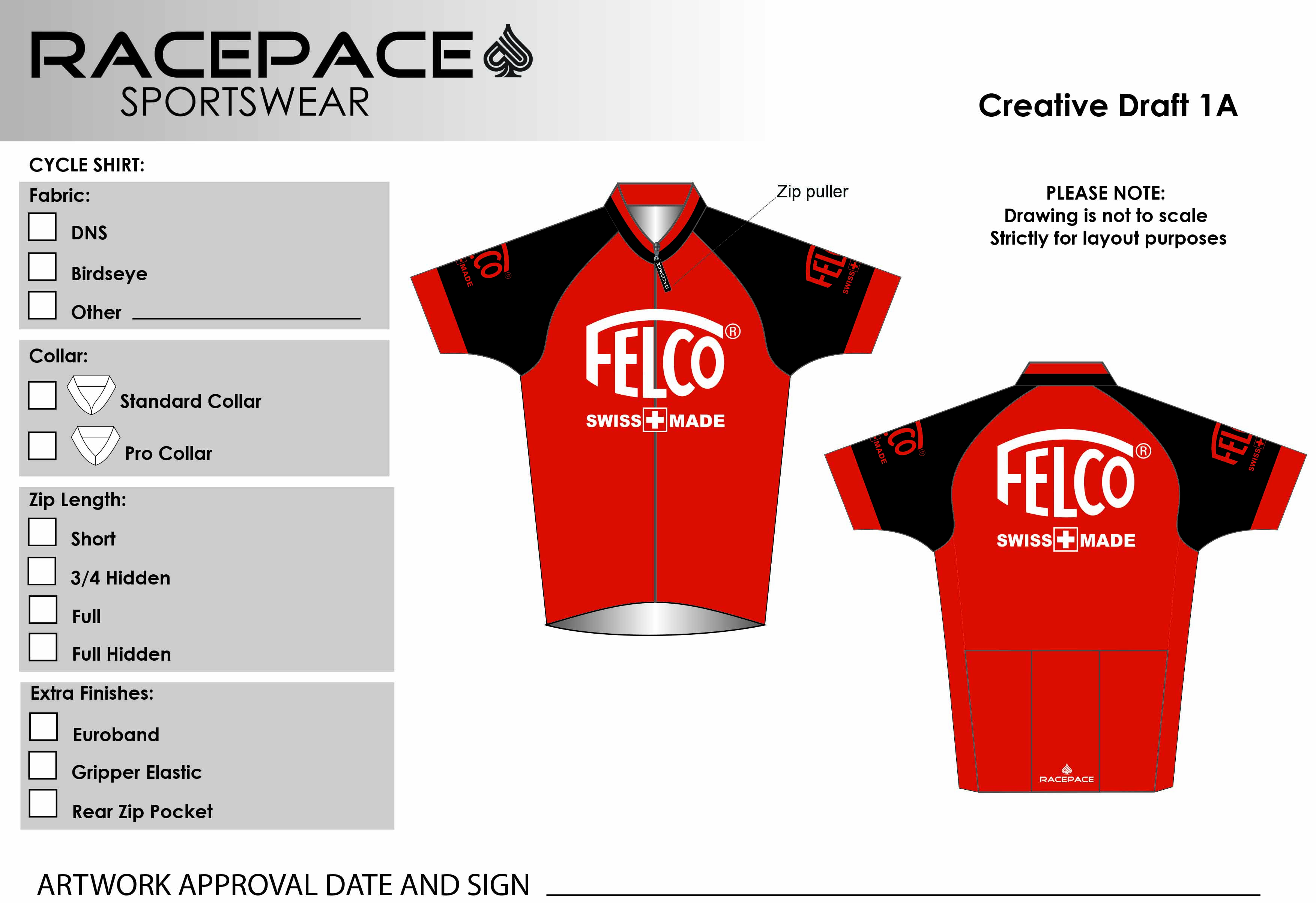Felco Cycle Shirt Draft1A