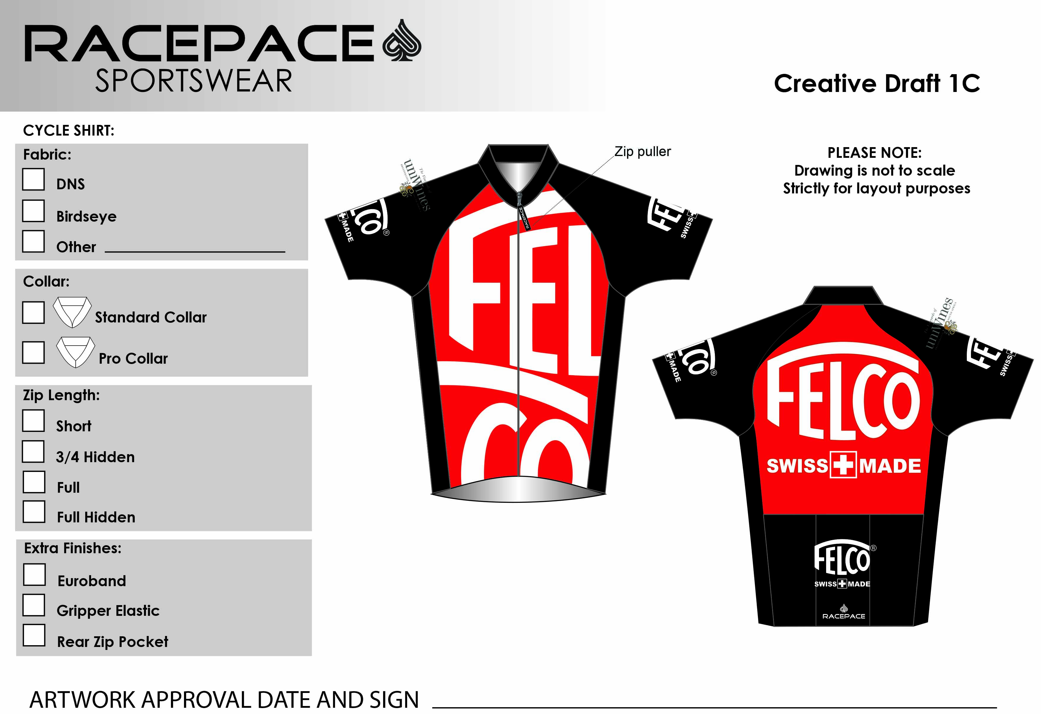 Felco Cycle Shirt Draft1C