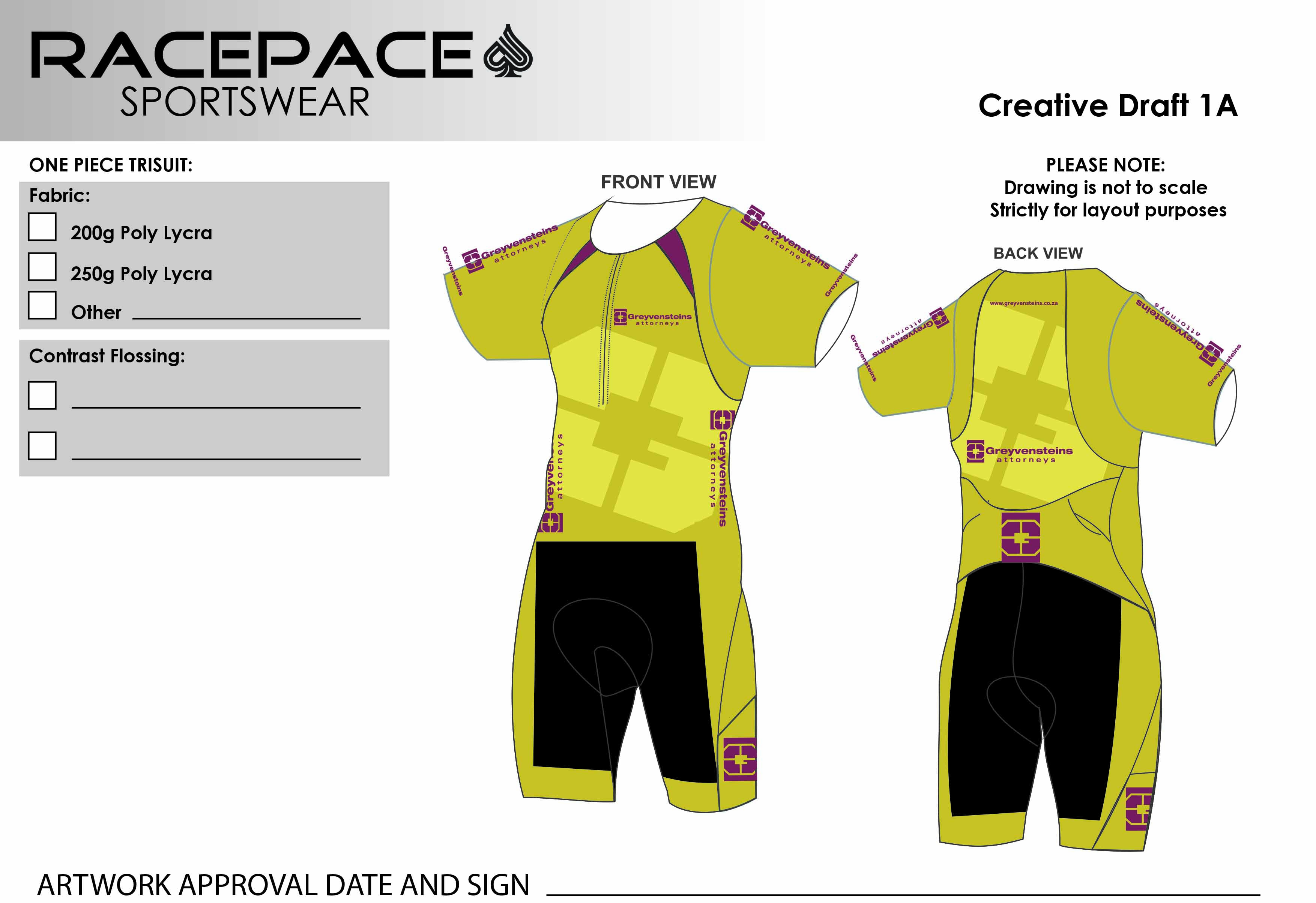 Greyvensteins SLEEVED Trisuit  Draft1A